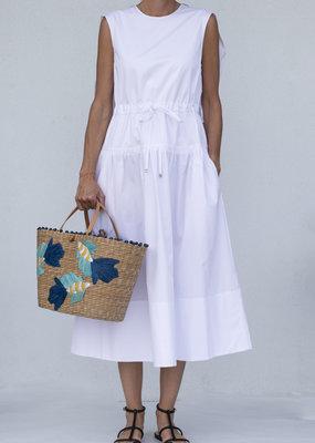 Tibi Cape Dress