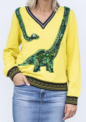 ugly girl Dino Mite Sweatshirt