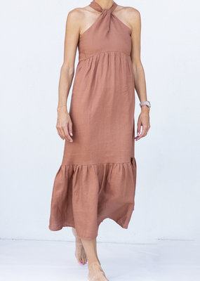 Lanhtropy Knot Dress