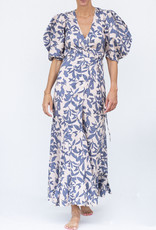 Lanhtropy Mararita Dress Loom Print