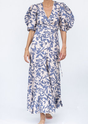 Lanhtropy Mararita Dress Loom Print