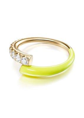 Melissa Kaye Lola Ring- Neon Yellow