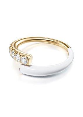 Melissa Kaye Lola Ring- White