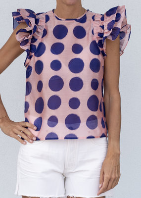 Ulla Johnson Caprice Top Zinnia
