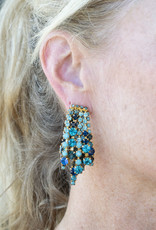 Elizabeth Cole Bette Earring Blue EC218