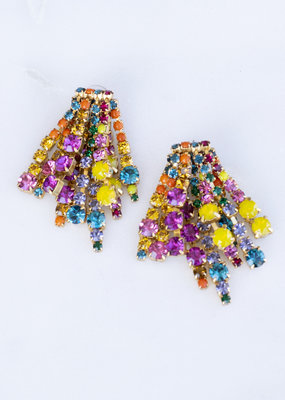 Elizabeth Cole Bette Earring Multi