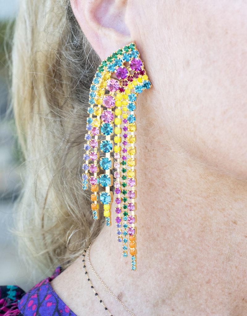 Elizabeth Cole Barrett Earring Multi