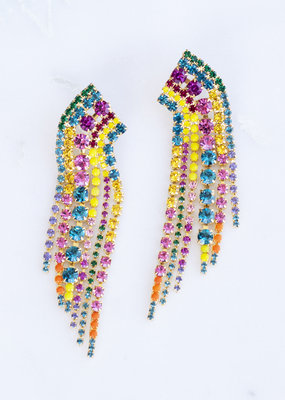 Elizabeth Cole Barrett Earring Multi