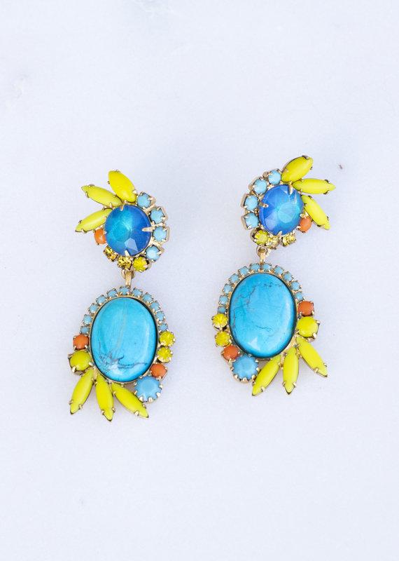 Elizabeth Cole Riley Earrings