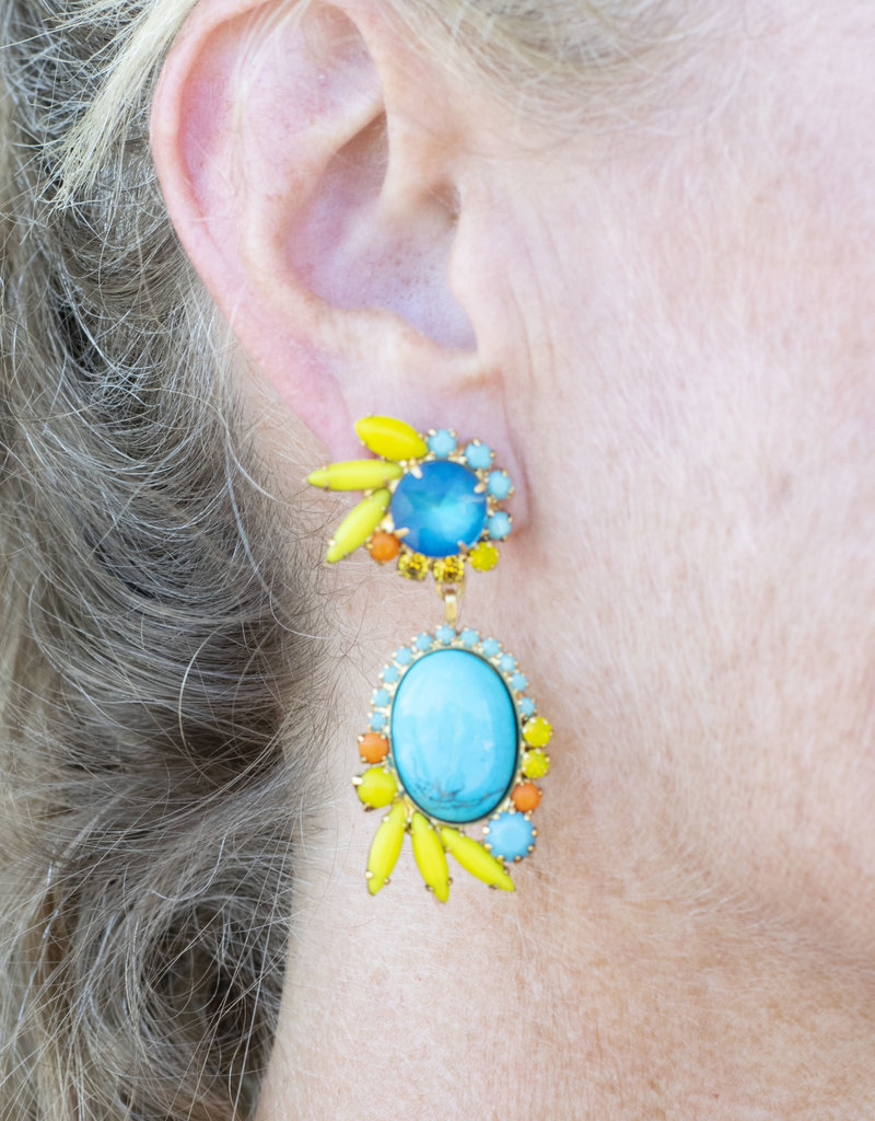 Elizabeth Cole Riley Earrings