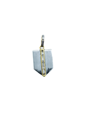 The Woods Fine Jewelry Small Shield Pendant
