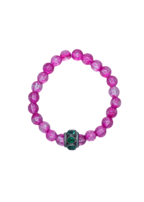 The Woods Fine Jewelry African Beads with Emeralds