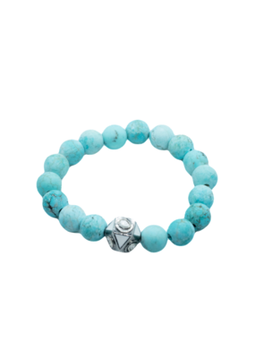 The Woods Fine Jewelry Turquoise with Enamel Bead