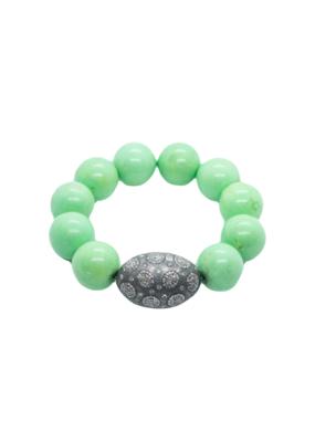 The Woods Fine Jewelry Turquoise and Diamond Bracelet