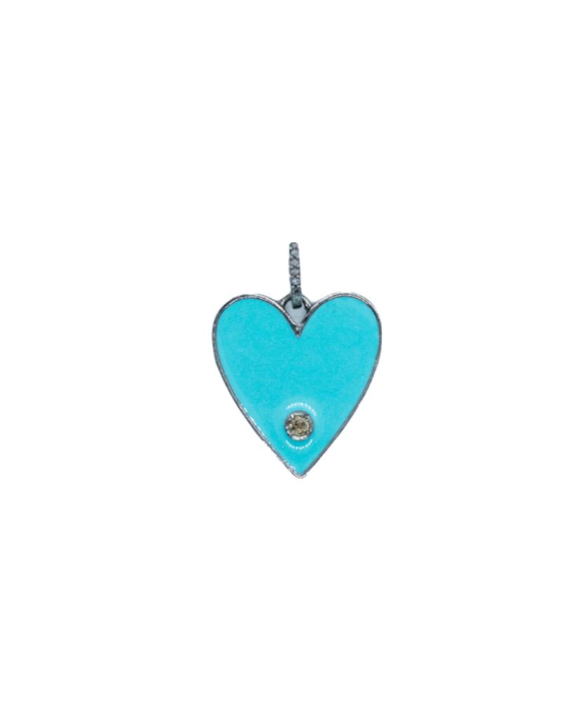 The Woods Fine Jewelry Enamel Heart