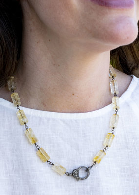 The Woods Fine Jewelry Citrine Necklace