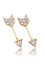 EF Collection Mini Diamond Arrow Studs