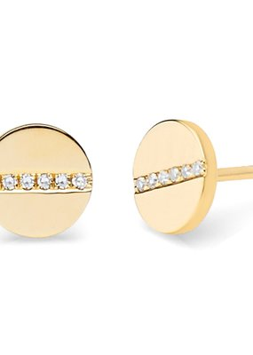 EF Collection Diamond Screw Studs