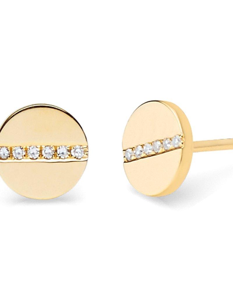 EF Collection Diamond Screw Studs