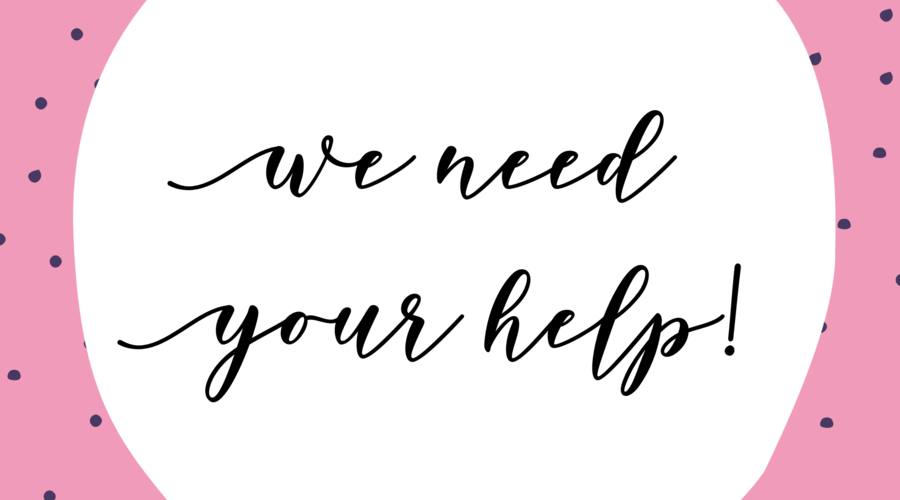 We need your help...