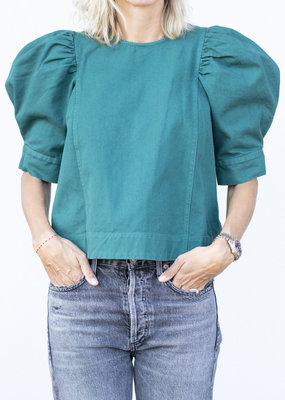 Sea NYC Metta Puff Sleeve Top