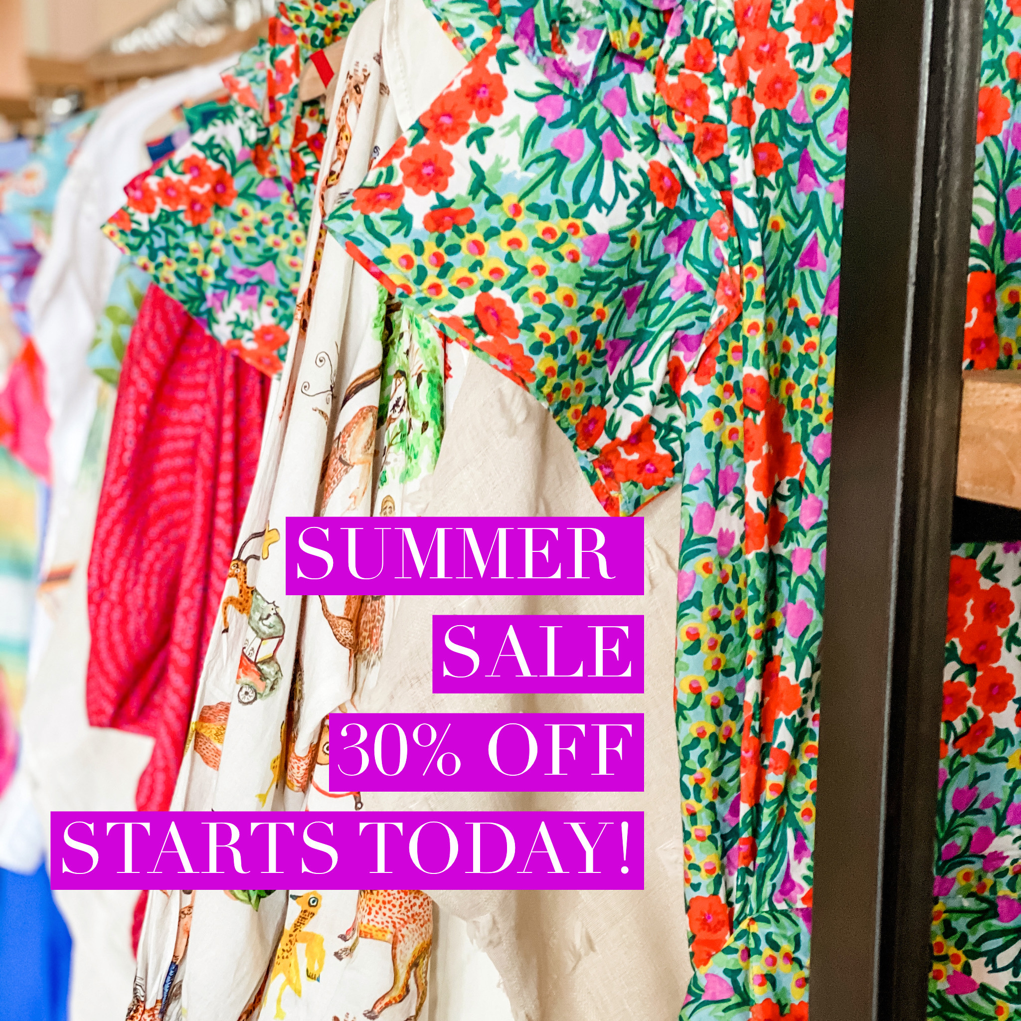 Summer Sale + YAH backroom