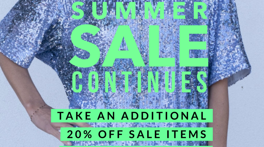 Additional 20% off SALE!