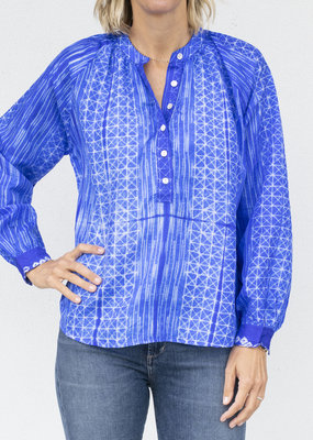 V. De. Vinster Stitch Blouse- 2 colors