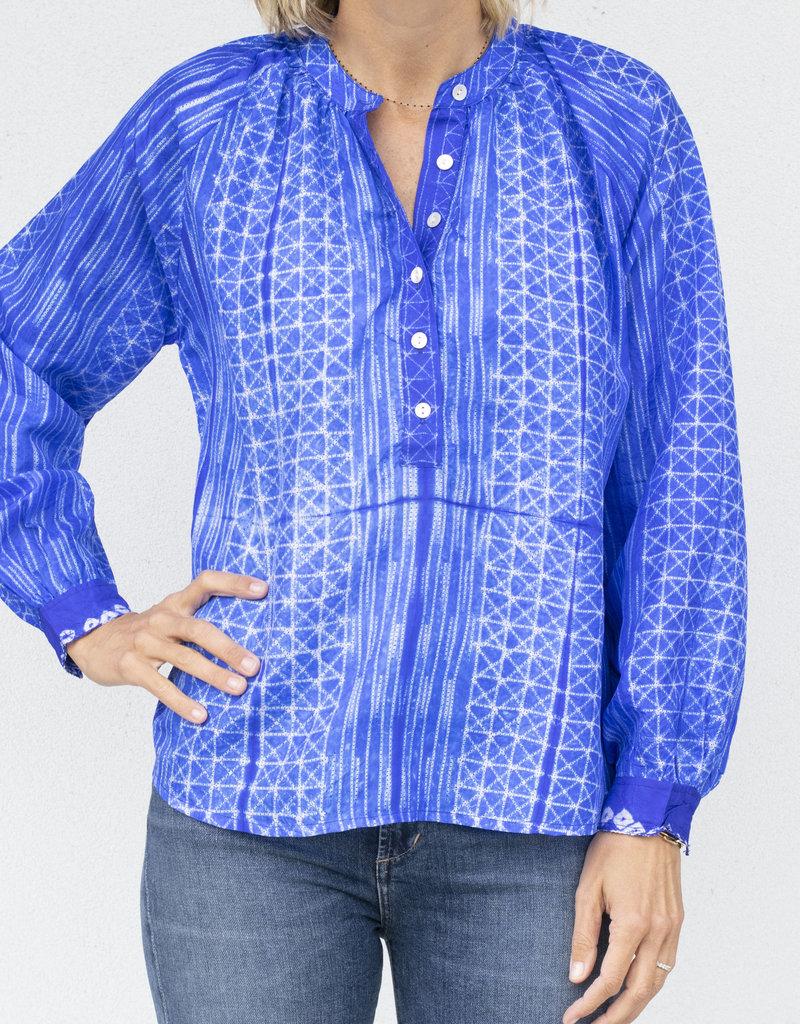V. De. Vinster Stitch Blouse- 2 colors