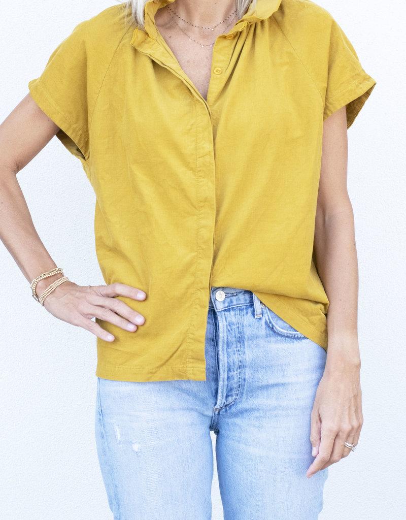 A Shirt Thing Stella Baby Corduroy Yellow