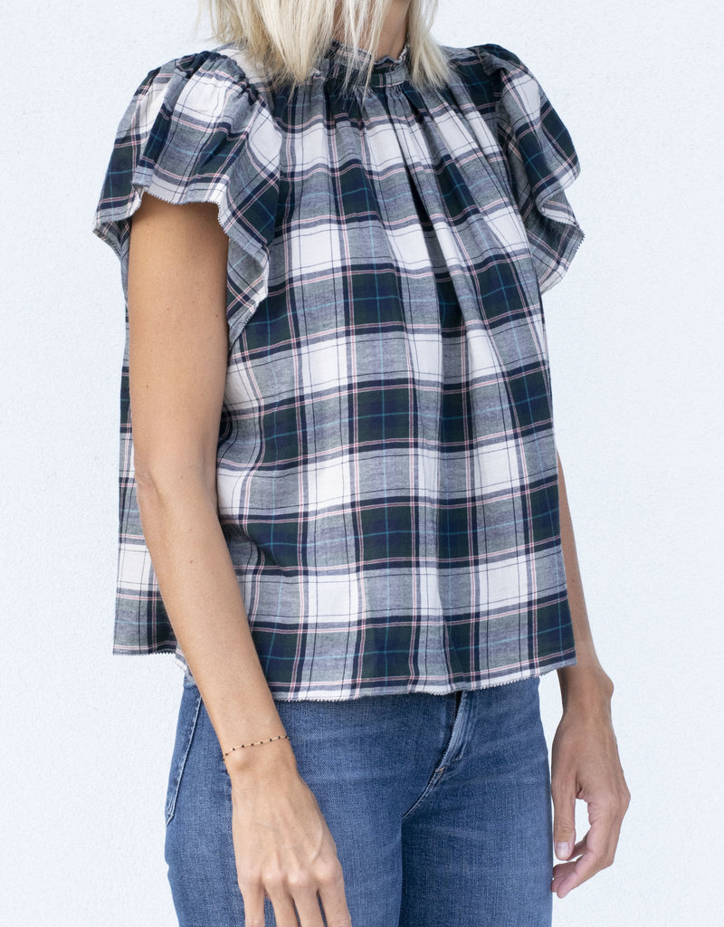 Trovata Cypress Plaid Carla Highneck
