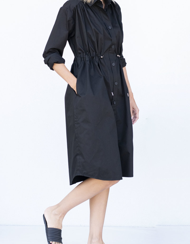 Alani String Dress Black
