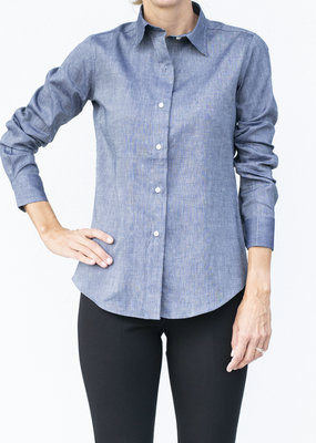 Ann Mashburn Icon Shirt Chambray