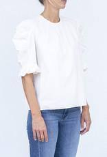 Ulla Johnson Joni Blouse Solid- 2 colors