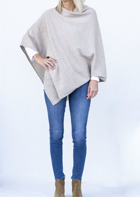 CT Plage Sweater Poncho- Beige