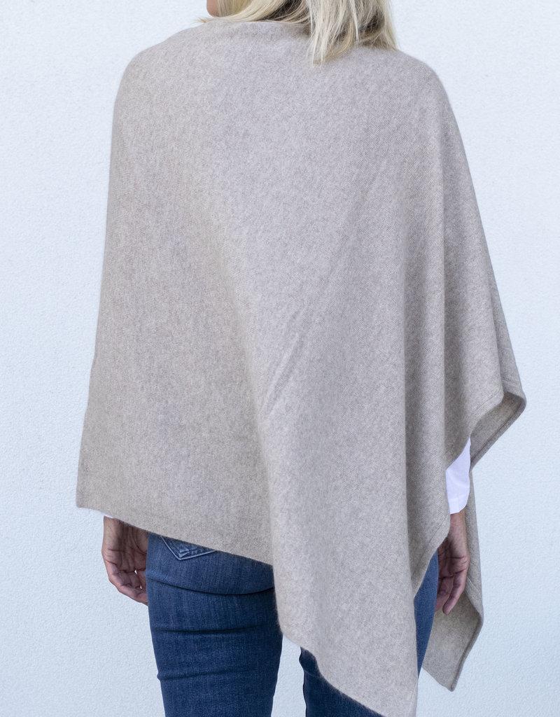 CT Plage Sweater Poncho- Beige