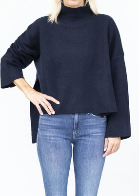 Allude Poncho Turtleneck - Deep Night