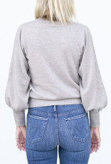 Allude RD Sweater -Light Grey