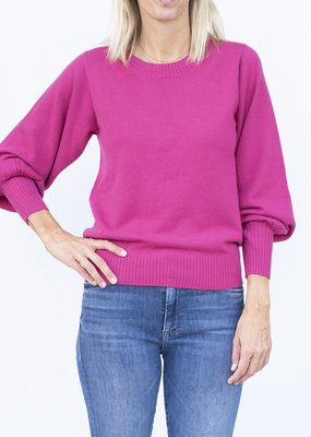 Allude RD Sweater - Berry