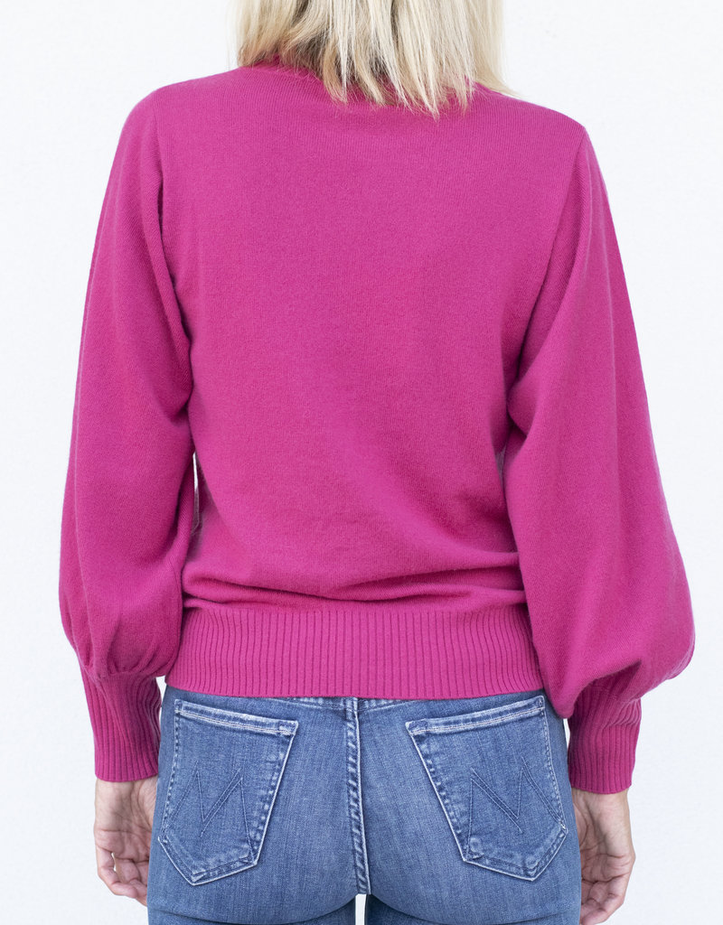Allude RD Sweater -Berry