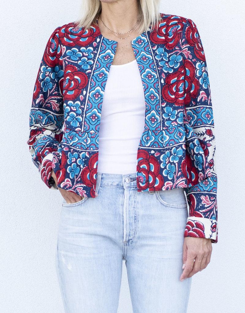 warm Pattern Jacket