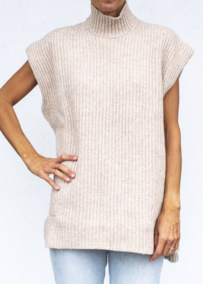 Ganni Sleeveless Ribbed Knit