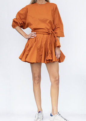 Rhode Resort Ella Dress Cinnamon