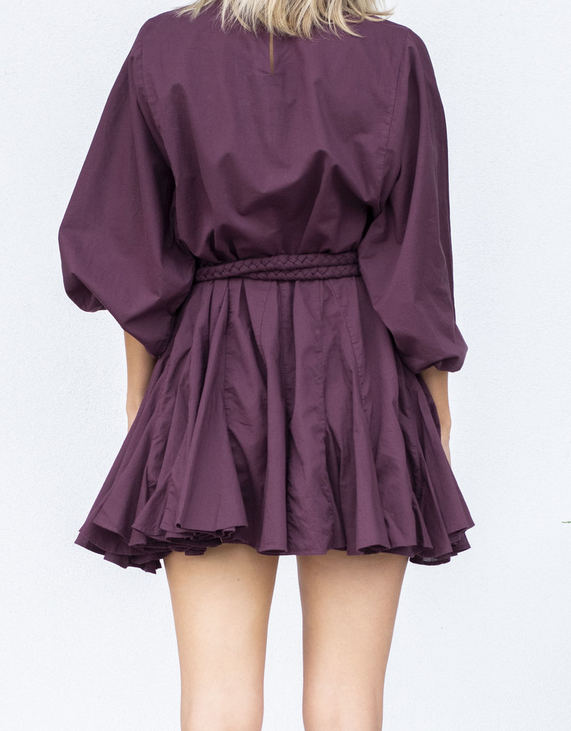 Rhode Resort Ella Dress Black Currant