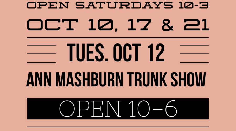 October Events + Extended Hours!