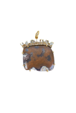The Woods Fine Jewelry Chocolate Copper Pendant