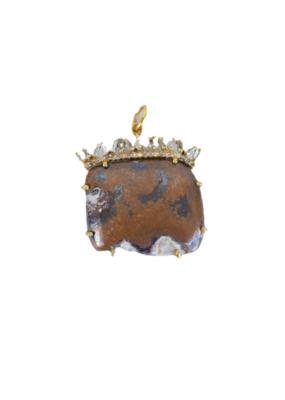 The Woods Fine Jewelry Chocolate Copper Pendant