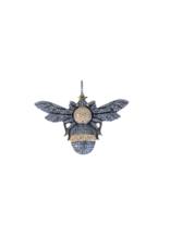 The Woods Fine Jewelry Diamond Bee Pendant