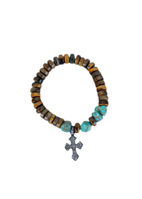 The Woods Fine Jewelry Tigers Eye Bracelet