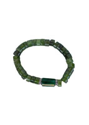 The Woods Fine Jewelry Peridot Beaded Bracelet